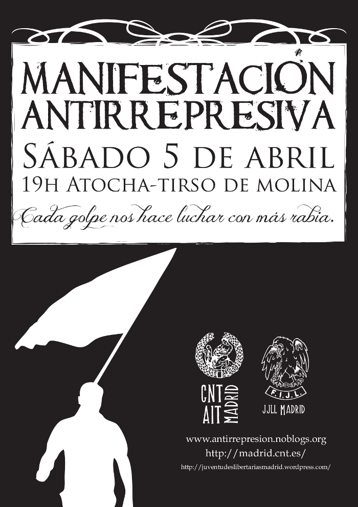 Cartel Mani represión-1